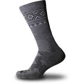Thorlos Outdoor Traveler Crew Socks grey/black